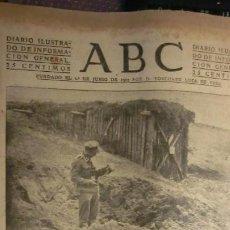 Militaria: ABC 24 DE OCTUBRE DE 1942..GUERRA MUNDIAL.. Lote 194521100