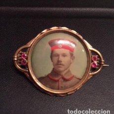 Militaria: BROCHE CONMEMORATIVO I GUERRA MUNDIAL. MUY ESCASO.. Lote 194522475