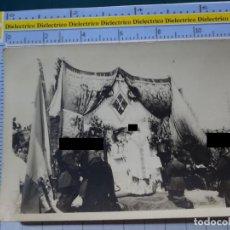 Militaria: FOTO FOTOGRAFÍA GUARDIA CIVIL MILITAR. AGENTES EN MISA CASTRENSE. 2787. Lote 194522945