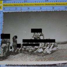 Militaria: FOTO FOTOGRAFÍA. GUARDIA CIVIL. AGENTES MANIOBRAS CAMPAÑA. AÑOS 50. 2792. Lote 194523435