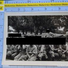 Militaria: FOTO FOTOGRAFÍA. GUARDIA CIVIL. AGENTES MANIOBRAS CAMPAMENTO EN SAN LORENZO DEL ESCORIAL 1958. 2795. Lote 194523755