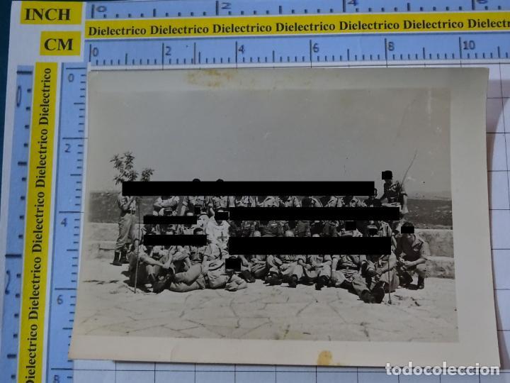 FOTO FOTOGRAFÍA. GUARDIA CIVIL. AGENTES VISITA SANTUARIO VIRGEN DE LA CABEZA ANDÚJAR 1957 . 2796 (Militar - Fotografía Militar - Otros)