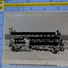 Militaria: FOTO FOTOGRAFÍA. GUARDIA CIVIL. AGENTES VISITA SANTUARIO VIRGEN DE LA CABEZA ANDÚJAR 1957 . 2796. Lote 194523907