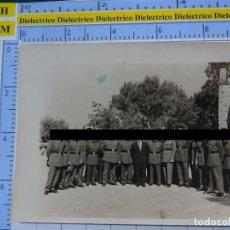 Militaria: FOTO FOTOGRAFÍA. GUARDIA CIVIL. AGENTES EN LA HOSPEDERÍA DE GIBRALFARO, MÁLAGA 1957 . 2798. Lote 194524337