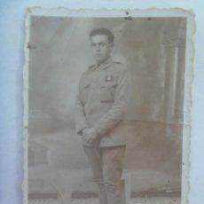 Militaria: GUERRA AFRICA : FOTO DE MILITAR POLICIA PROVISIONAL ?????. HUELVA , 23 MARZO 1939 . Lote 194543708