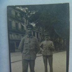 Militaria: I ª GUERRA MUNDIAL : FOTO DE DOS MILITARES FRANCESES. EJERCITO DE FRANCIA, 1915. Lote 194550392