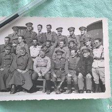 Militaria: GRUPO OFICIALES NACIONALES..GUERRA CIVIL.. Lote 194601906