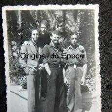 Militaria: (JX-200276)FOTOGRAFÍA DE SOLDADOS Y FALANGISTAS , GUERRA CIVIL , PALMA DE MALLORCA .. Lote 194608240