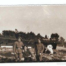 Militaria: REPRODUCCIÓN DE FOTO ORIGINAL. Lote 194632583