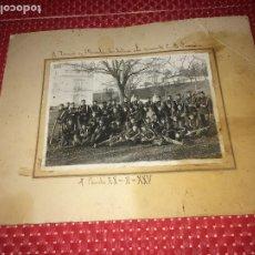 Militaria: FOTOGRAGIA REGIMIENTO AÑO 1925 - EL PARDO XX-II-XXV - MEDIDAS; 27 X 21 CMS.. Lote 194633850