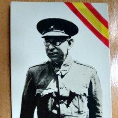 Militaria: ANTIGUA FOTO POSTAL DEL GENERAL MOLA - GUERRA CIVIL. Lote 194685040