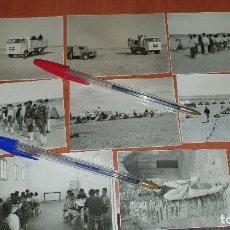 Militaria: ORGANIZACION JUVENIL, O.J.E., MARCHA AL SAHARA, CAMIONES PEGASO, AAIUN, HIJOS DE LEGIONARIOS, 1969. Lote 194717008