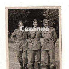 Militaria: MILICIAS UNIVERSITARIAS. SEU. 7 X 9 CM. SOLDADOS ESPAÑOLES. . Lote 194723036