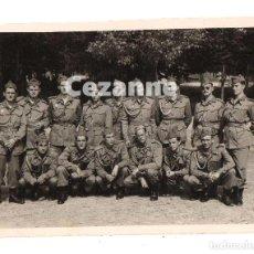 Militaria: MILICIAS UNIVERSITARIAS. SEU. 7 X 9 CM. SOLDADOS ESPAÑOLES.. Lote 194723797