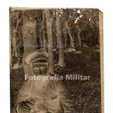 Militaria: NEGATIVO 7 X 4 CM. CABALLERÍA ALFONSINA. OFICIAL. . Lote 194727562