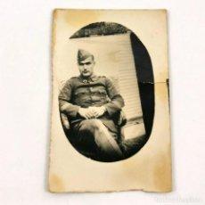Militaria: FOTOGRAFIA MILITAR DE INFANTERIA - 4 DE MAYO DE 1931 - MILITAR MANUEL ESTIVILL - 7 X 4,5 CM / TC-6. Lote 194729578