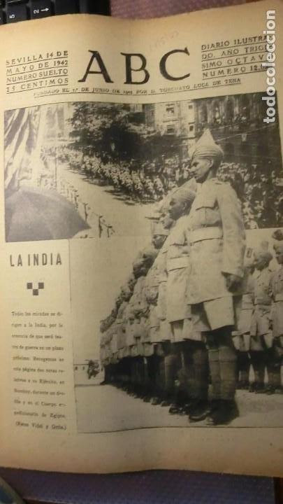 ABC 14 DE MAYO DE 1942 GUERRA MUNDIAL. (Militar - Fotografía Militar - II Guerra Mundial)