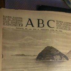 Militaria: ABC 4 DE ENERO DE 1942.GUERRA MUNDIAL.. Lote 194735290