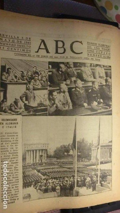 ABC 3 DE MAYO DE 1942.GUERRA MUNDIAL. (Militar - Fotografía Militar - II Guerra Mundial)