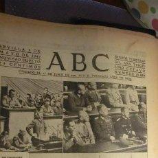 Militaria: ABC 3 DE MAYO DE 1942.GUERRA MUNDIAL.. Lote 194735778
