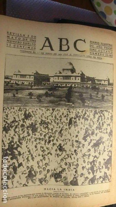 ABC 5 DE MAYO DE 1942..GUERRA MUNDIAL. (Militar - Fotografía Militar - II Guerra Mundial)
