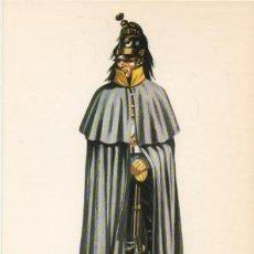 Militaria: LAMINA DE UNIFORMES MILITARES. CABALLERIA DE LINEA. ESPAÑA 1835 LAMUNI-034. Lote 194764470