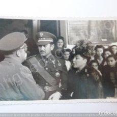 Militaria: FOTOGRAFÍA ANTIGUA. OFICIAL. FOTÓGRAFO MORALES. TETUÁN (13,5 X 8,5 CM). Lote 194783236