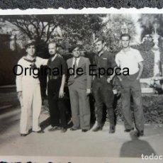 Militaria: (JX-200202)FOTOGRAFÍA DE SOLDADOS,FALANGISTAS Y MARINO (RADIOTELEGRAFOS )GUERRA CIVIL,PALMA DE MALLO. Lote 194865510