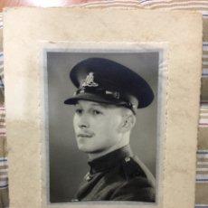Militaria: FOTO ORIGINAL SOLDADO INGLÉS. Lote 194893813