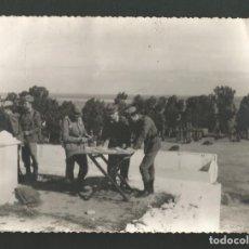 Militaria: ANTIGUA FOTOGRAFIA MILITAR MANIOBRAS. Lote 194920632