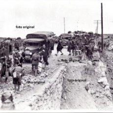 Militaria: BATALLA GUADALAJARA CTV ITALIANO CRTA. NACIONAL REPUBLICA AVANCE MADRID GUERRA CIVIL 1937. Lote 194947342