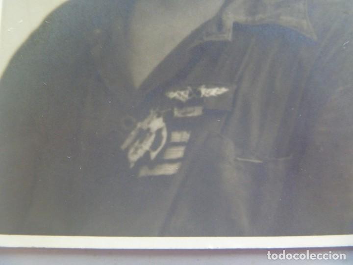 Militaria: GUERRA CIVIL . DE DE UN SARGENTO PILOTO DE AVIACION , CON ROKISKI Y DETENTES. DE JAVIER, CACERES - Foto 2 - 194972270