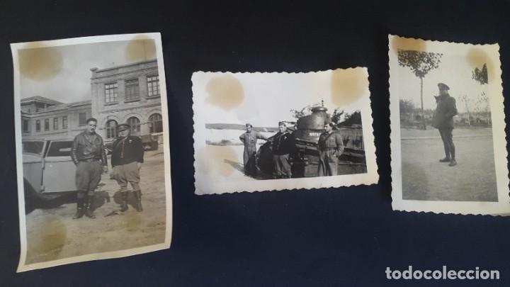 Militaria: TANQUE - GUERRA CIVIL - 3 FOTOGRAFÍAS - Foto 2 - 194985227