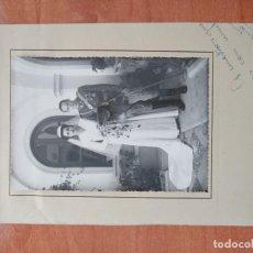Militaria: FOTOGRAFÍA TENIENTE, BANDERA FALANGE, GUERRA CIVIL. Lote 194992815