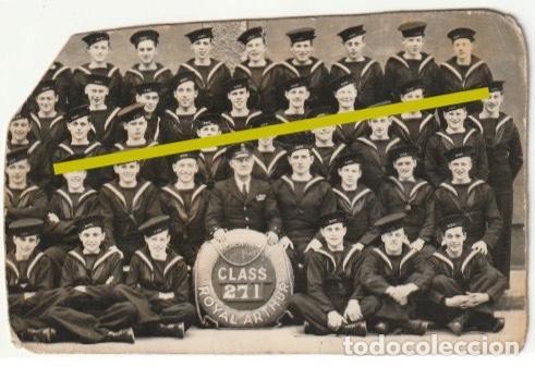 MARINOS DEL ROYAL ARTHUR BOTADO EN 1914 EN 1939 LO UNDE EL U 47 ALEMAN MURIENDO 833 SOLDADOS -D-26 (Militar - Fotografía Militar - Otros)