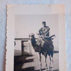 Militaria: 15-FOTOGRAFIA SIDI IFNI 1957, CASA MARTINEZ ,1957, 7,5 X 5,5. Lote 195008491