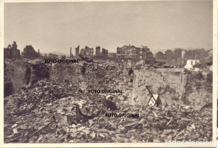 GUERNICA (VIZCAYA) TRAS EL BOMBARDEO FUERZAS LEGION CONDOR GUERRA CIVIL (Militar - Fotografía Militar - Guerra Civil Española)