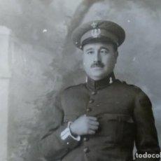 Militaria: FOTOGRAFÍA DE SUB OFICIAL DE INGENIEROS, ALGECIRAS 1.925. Lote 195094227
