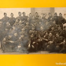 Militaria: FANO (ITALIA) MILITAR. GRUPO DEL REGIMIENTO. FOTOGRAFÍA PARA EL RECUERDO (OCTUBRE DE 1948). Lote 195149338