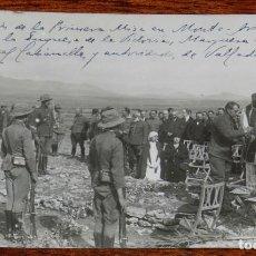 Militaria: FOTOGRAFIA DE LA GUERRA DEL RIF, NOVIEMBRE DE 1921, CELEBRACION DE LA PRIMERA MISA EN MONTE ARRUIT, . Lote 195170123