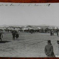 Militaria: FOTOGRAFIA DE LA GUERRA DEL RIF, 6 DE ENERO DE 1921, OCUPACION DE DAR DRIUS, VISTA GENERAL DE LA POS. Lote 195170736