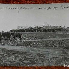 Militaria: FOTOGRAFIA DE LA GUERRA DEL RIF, 1 DICIEKIMBRE 1921, AVANCE HACIA EL KERT, POSICION DE KADUR OCUPADA. Lote 195172777