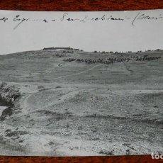 Militaria: FOTOGRAFIA DE LA GUERRA DEL RIF, 1922, POSICION DE ESGRIMA OCUPADA POR NUESTRAS TROPAS, OCUPACION DE. Lote 195173220