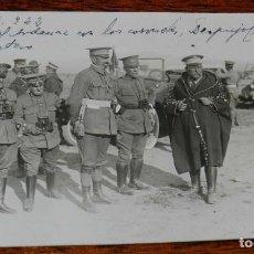 Militaria: FOTOGRAFIA DE LA GUERRA DEL RIF, AFSO 1922, EL GENERAL ARDENAZ CON LOS CORONELES, DESPUJOL, LASQUET. Lote 195182657