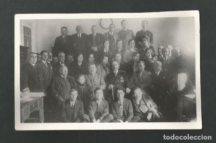 ANTIGUA FOTOGRAFIA POLITICO MILITAR NO CONSTA AUTOR NI AÑO (Militar - Fotografía Militar - I Guerra Mundial)