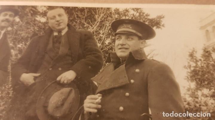 Militaria: Fotografía Alférez Ejército español. Años 20. Tarjeta Postal - Foto 2 - 195209986