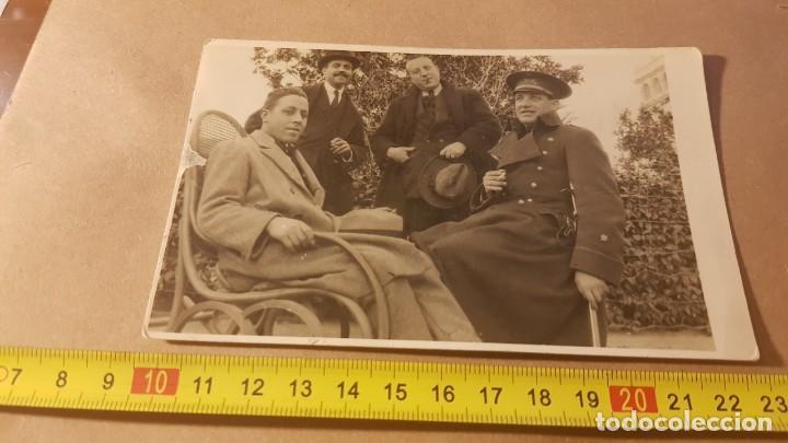 Militaria: Fotografía Alférez Ejército español. Años 20. Tarjeta Postal - Foto 4 - 195209986