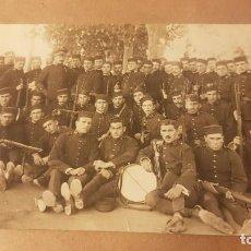 Militaria: FOTOGRAFÍA EJÉRCITO ESPAÑOL. REGIMIENTO DE INFANTERÍA GUADALAJARA 30. VALENCIA. AÑOS 20. . Lote 195210733