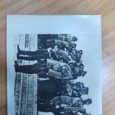 Militaria: FOTOGRAFÍA ORIGINAL DE LA ÉPOCA HITLER Y MUSSOLINI EN ROMA. Lote 195232900