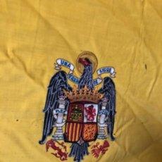 Militaria: BANDERA AGUILA SAN JUAN ÉPOCA CAUDILLO BORDADA 2 X 1,2 APROX. Lote 195299571